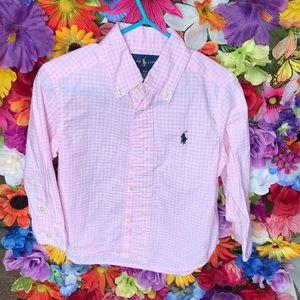 🐎Polo Button-Down Shirt 2T